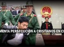 cristianos en china son puestos en prisión