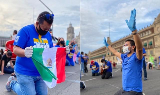 Cristianos de México salen a las calles