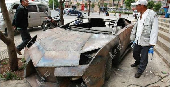 9ded0288e863fbe79d863f606cb05c21 - Chino Entusiasta construye Lamborghini Reventon