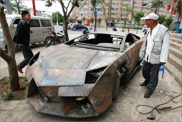 Chino Entusiasta construye para sí mismo un Lamborghini Reventon