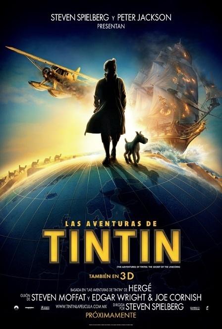 """f7abac252ae5ed68121b92ba7a669d87 - Trailer y Estreno """"Las Aventuras de Tintín: El Secreto del Unicornio"""""""