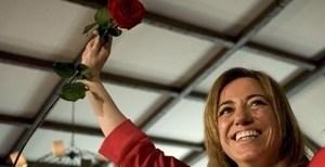 """87c7d648151f5cd3be35a0e8c0f9fae0 - Chacón: """"Rajoy no da la cara ante los españoles pero sí inclina la cabeza ante Merkel"""""""