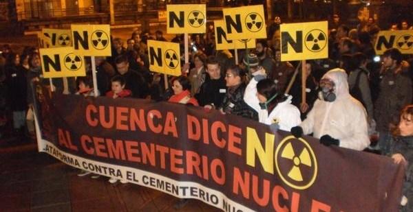 3da7a916ed0a1c313246b545114e968c - La Plataforma contra el Cementerio Nuclear de Cuenca continúa con sus acciones de protesta