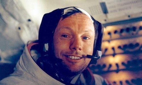 Neil Armstrong, el primer hombre en caminar sobre la Luna