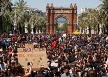 4b50d7fbcad536bb1e623e4eb6d7776e - Blindaje policial en Barcelona ante las protestas de estudiantes