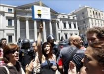 41800ddcbf765d04344c295d60cdf173 - El Gobierno 'bunkeriza' el Congreso para 'protegerse' de las opiniones de los descontentos