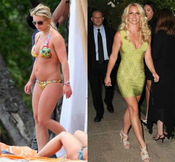 Photoshop1 - ¡Así lucen 10 famosas sin Photoshop y en bikini!