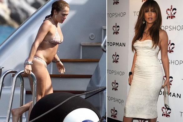 Photoshop8 - ¡Así lucen 10 famosas sin Photoshop y en bikini!