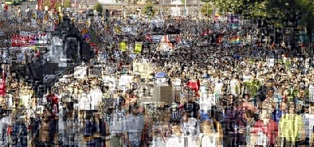 Una marcha de parados protesta en Madrid contra la reforma laboral y exige soluciones al desempleo
