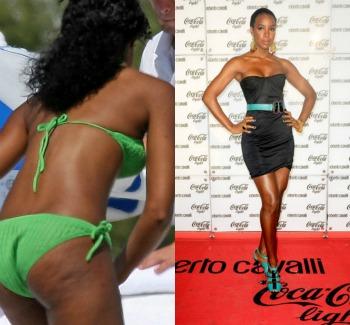 kelly rowland m - ¡Así lucen 10 famosas sin Photoshop y en bikini!