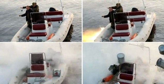 c1a9717610a0cf44d9b2e436d1721ef9 - Rusos pescando con una granada casi pierden la vida