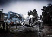 2a9ceb674dd25489978c3ffc90b75279 - #Video Robot Mantis: Hexápodo gigante de dos toneladas