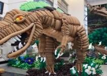 2c1a6ab5d9c6d53e2f917b3cb81758bb - Dinosaurio de 6 metros hecho con globitos