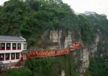 b3f8a286b21bfd52d3c9b12463d21b53 - Fangweng, un original restaurante colgante en China