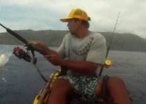 ccd8446da0236cddce1b46e8f07f6309 - Pescaba en kayak cuando un tiburón le dio el susto de su vida