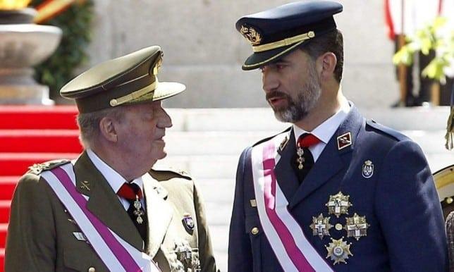 9a802386611b47684937bd3c40c768b4 - El Rey de España Juan Carlos de Borbón, Abdica pero no admite el desprestigio de la Corona