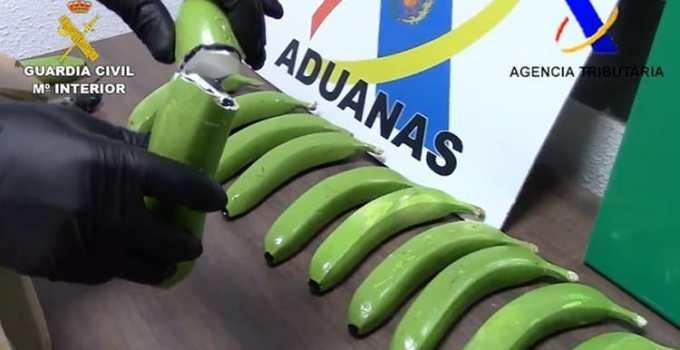 f4c042fa638ebd1d0acc268fcadc2d22 - Hallan 17 kilos de cocaína ocultos en un cargamento de plátanos