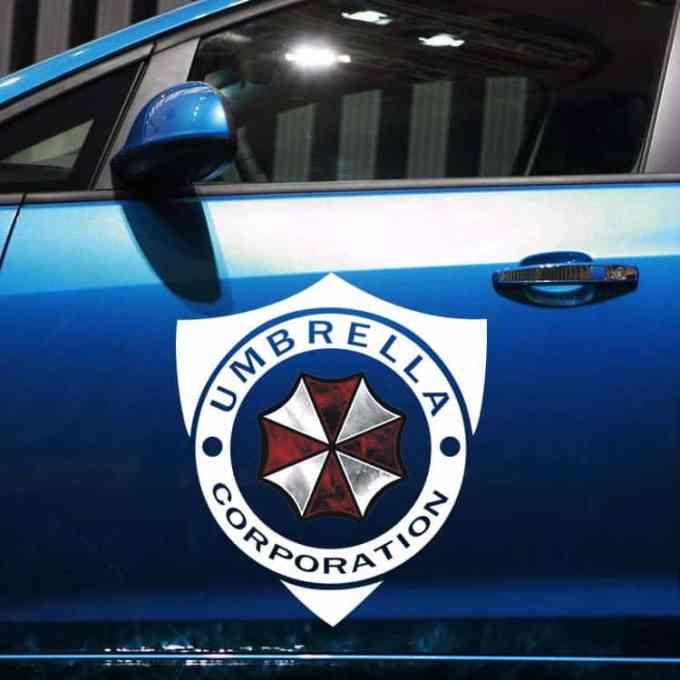 """Pegatinas para carro y coche """"Umbrella Corporation de Resident Evil"""""""