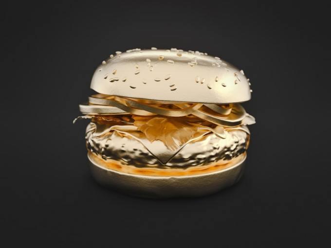 oro en la comida1 - Oro en la Comida - La Nueva Forma de Comer