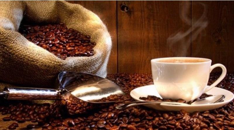 Saco Café granos taza
