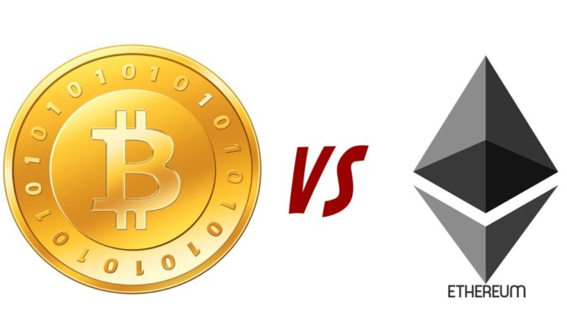 Bitcoin y Ethereum cayeron con fuerza este lunes