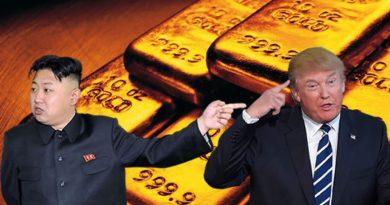 Lingotes, Oro, Trump y Corea
