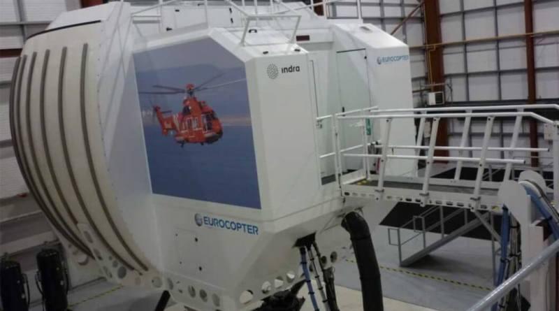 Simulador Eurocopter Indra