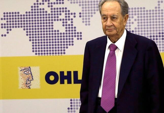 Villar Mir vuelve a reducir su posición en OHL