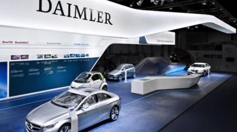 Daimler lanza un 'Profit warning' por culpa de la guerra comercial
