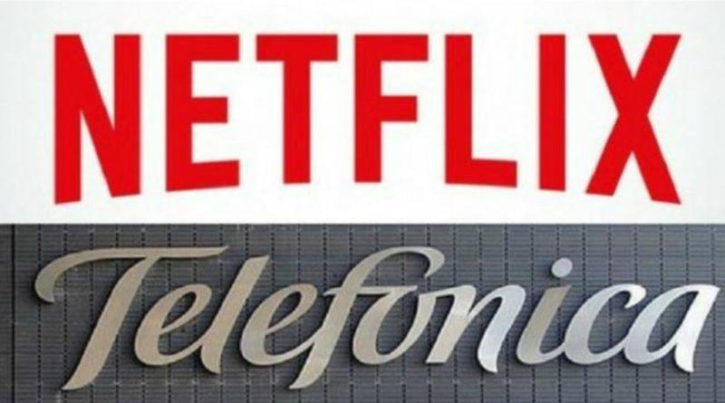 Telefónica integrará Netflix en sus plataformas