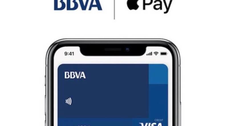 BBVA ofrece desde hoy el servicio de pago por móvil Apple Pay