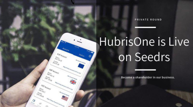 HubrisOne lanza su ronda de financiación privada en Seedrs