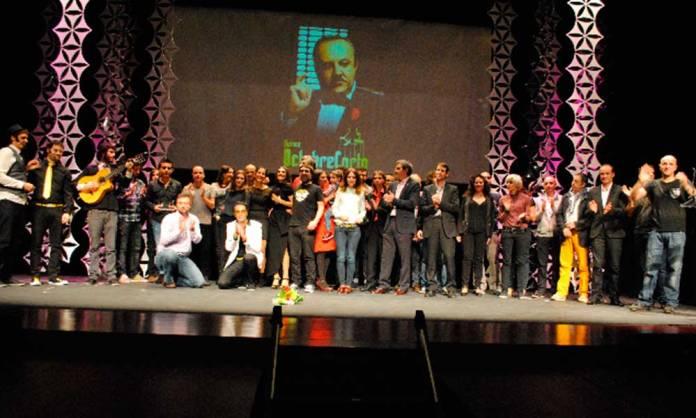Foto de familia de una edición de Octubre Corto publicada en su web oficial