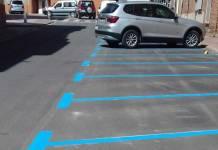 Aparcamientos de zona Azul en Arnedo
