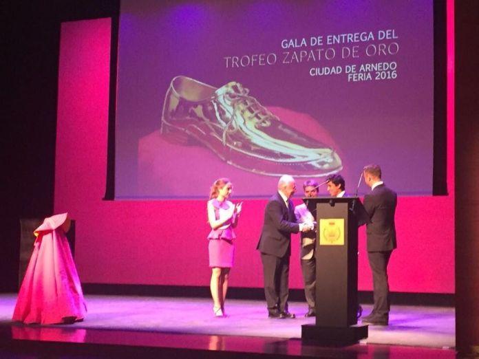 Entrega del Zapato de Oro 2016