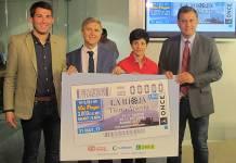Presentación del cupón de la ONCE dedicado a La Rioja Tierra Abierta de Arnedo