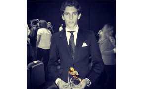 Ginés Marín ganador del Zapato de Oro 2014   ginesmarinoficial