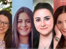 Las cuatro candidatas que optan a Reina de las Fiestas de Arnedo 2017
