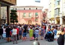 Concentración silenciosa en el Ayuntamiento de Arnedo