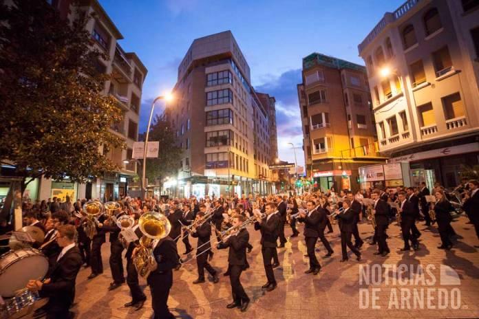 Agrupación Musical Santa Cecilia llega a la Puerta Munillo