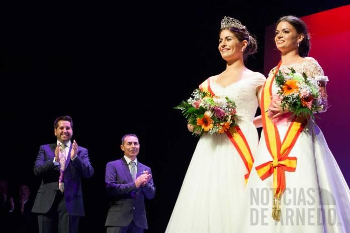 María Simón traspasa la corona a Sofía Ezquerro