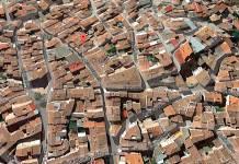 Zona del Atropello en Calle Santiago Milla de Arnedo