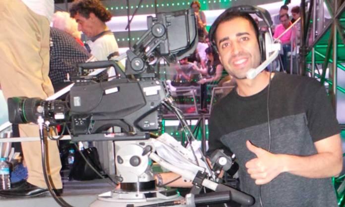 Andrés Montiel, cámara en La Sexta