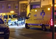 Recursos de Emergencia atienden a un herido en Arnedo