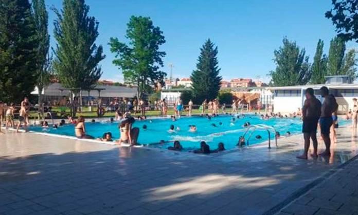 Antigua piscina climatizada de las piscinas municipales de Arnedo