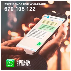 670105122 Whatsapp del Noticias de Arnedo
