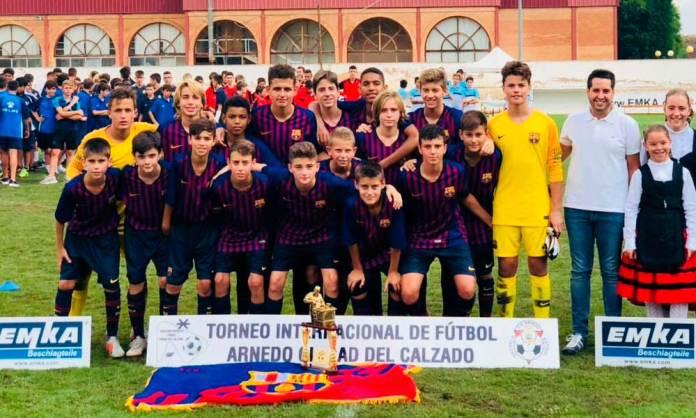 El equipo Infantil del FC Barcelona (Imagen del FC Barcelona)