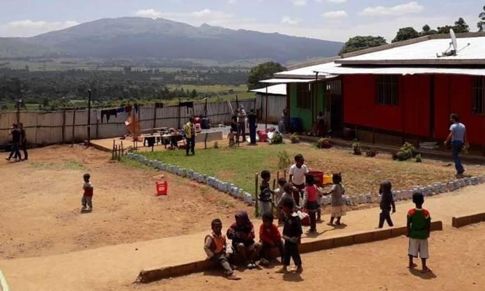 Solidaridad arnedana en Etiopía con Ambessa