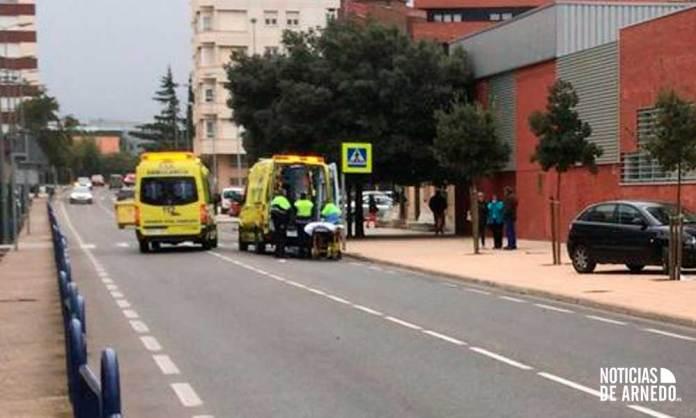 Recursos de Emergencia atienden atropello en Avenida Reyes Católicos de Arnedo