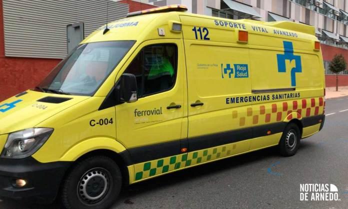El arnedano de 83 años atropellado esta tarde en Arnedo ha fallecido en la UVI Móvil